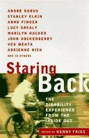 Staring Back Book PDF