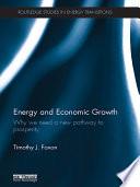 Energy and Economic Growth