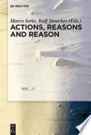 Actions  Reasons and Reason