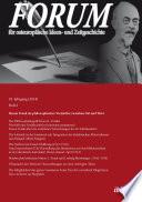 Forum für osteuropäische Ideen- und Zeitgeschichte. 18. Jahrgang, Heft 2 Journal Landscape Of European Studies