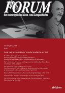 Forum für osteuropäische Ideen- und Zeitgeschichte. 18. Jahrgang, Heft 2