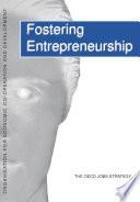 The OECD Jobs Strategy Fostering Entrepreneurship