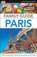 Paris   DK Eyewitness Family Guide