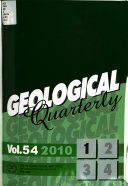 Geological Quarterly book