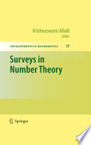 Surveys In Number Theory book