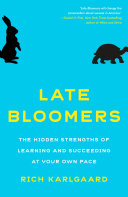 Late Bloomers Book