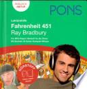 PONS Lekt  rehilfe Fahrenheit 451  Ray Bradbury