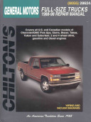 Chilton s General Motors Full Size Trucks