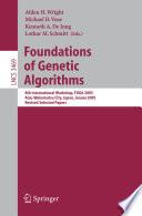 Foundations Of Genetic Algorithms