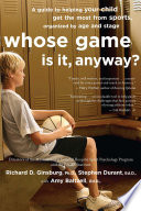 Whose Game Is It  Anyway