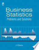 Business Statistics  Problems   Solutions