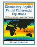 Elementary Applied Partial Differential Equations