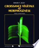 illustration du livre Croissance végétale et morphogénèse