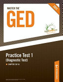 Master the GED  Practice Test 1  Diagnostic Test