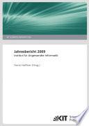 Jahresbericht / Institut für Angewandte Informatik ; 2009