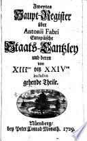 Europäische Staats-Cantzley