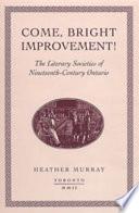 Come Bright Improvement  book