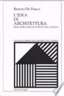 L idea di architettura