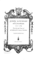 John Loveday of Caversham  1711 1789