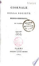 Giornale della Societ   medico chirurgica di Parma