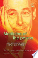 Medicine of the Person