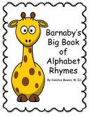 Barnaby s Big Book of Alphabet Rhymes