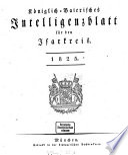 Königlich-bayerisches Intelligenzblatt für den Isarkreis