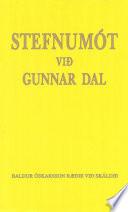 Stefnumót við Gunnar Dal
