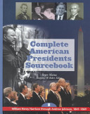 download ebook complete american presidents sourcebook: william henry harrison through andrew johnson, 1841-1869 pdf epub