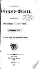 Aargauisches Gesetzes-Blatt