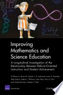 Improving Mathematics And Science Education