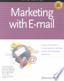 Marketing With E Mail