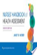 Nurse s Handbook of Health Assessment