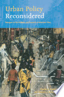 Urban Policy Reconsidered