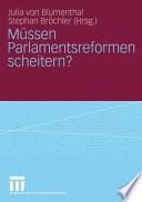Blumenthal, Parlamentsreformen