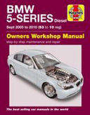Bmw 5 Series Diesel Service And Repair Manual