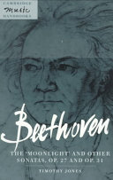 Book Beethoven: The 'Moonlight' and Other Sonatas, Op. 27 and Op. 31