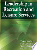 Leadership In Recreation And Leisure Services