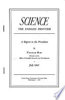 Science  the endless frontier