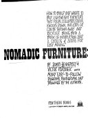 Nomadic furniture  how to build and where to buy lightweight furniture that folds  collapses  stacks  knocks down  inflates or can be thrown away and re cycled