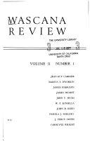 Wascana Review Book PDF