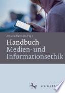 Handbuch Medien  und Informationsethik