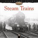 Steam Trains Heritage Wall Calendar 2019  Art Calendar