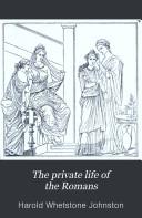 illustration du livre The Private Life of the Romans