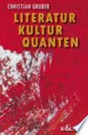 Literatur  Kultur  Quanten