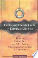 Family Friends Guide To Domestic Violence