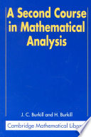 A Second Course in Mathematical Analysis