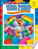 Letters  Numbers  Color and Shape Learning Centers