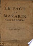 Le Pact De Mazarin Avec Le Demon