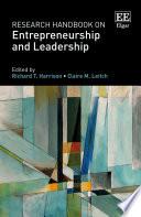 Research Handbook On Entrepreneurship And Leadership : leaders is a gap in both...